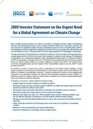 2009-investor-statement-on-the-urgent-need-for-a-global-agreement-on-climate-change