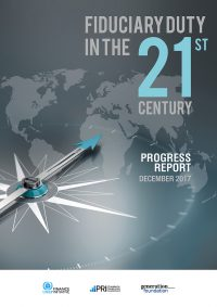 Fiduciary Duty in the 21st Century - Progress Report