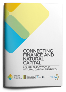 Natural Capital Protocol - Finance Sector Supplement