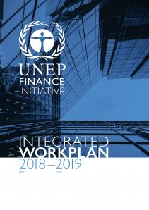 UNEP FI Integrated Workplan 2018-2019