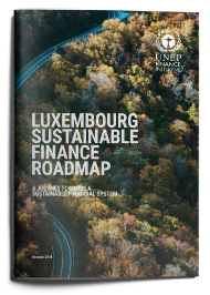 A Journey towards a sustainable financial system: Luxembourg Sustainable Finance Roadmap