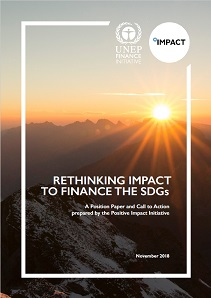Rethinking Impact to Finance the SDGs: A Position Paper and Call to Action