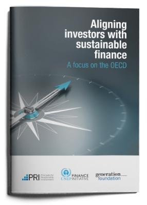 Aligning investors with sustainable finance: a focus on the OECD