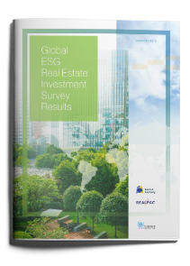 Global ESG Real Estate Investment Survey Results