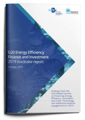 G20 Energy Efficiency Finance and Investment 2019 Stocktake Report