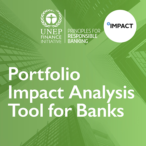 UNEP FI Portfolio Impact Analysis Tool for Banks