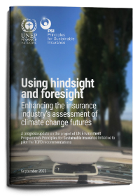 Using hindsight and foresight: Update from the TCFD Pilot Project for Insurers