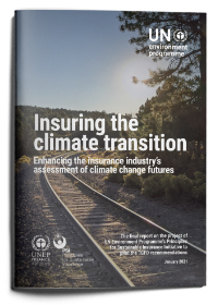 Insuring the climate transition: Enhancing the insurance industry's assessment of climate change futures