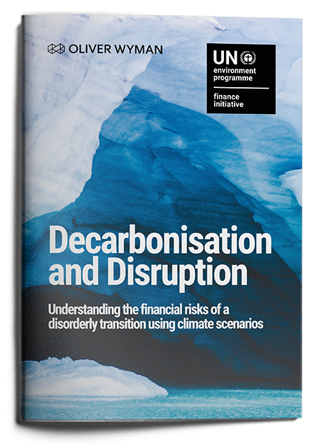 Decarbonisation and Disruption: Understanding the financial risks of a disorderly transition using climate scenarios