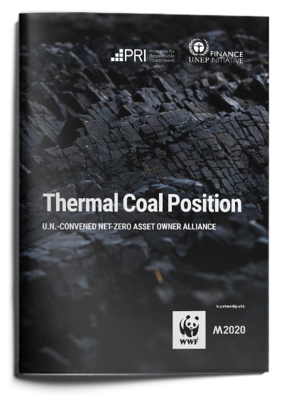 Alliance Thermal Coal Position