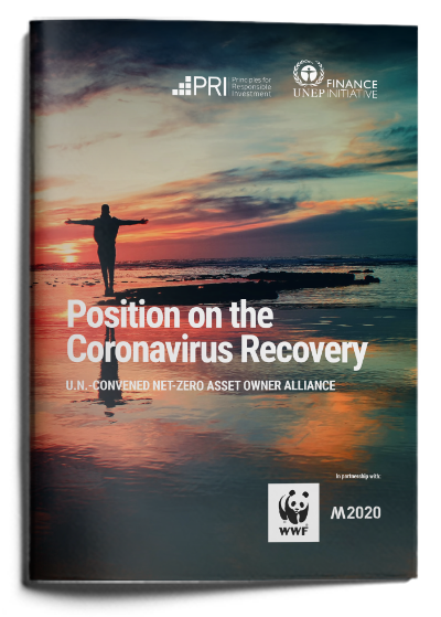 Alliance position on the Coronavirus Recovery