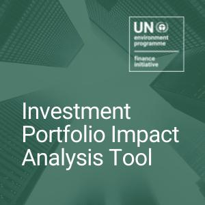 Investment Portfolio Impact Analysis Tool