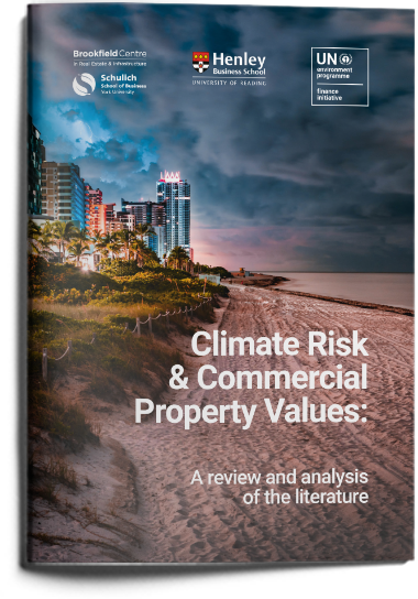 Climate Risk and Commercial Property Values